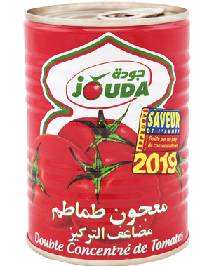Double tomato concentrate Jouda in metal box