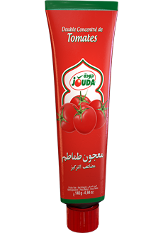 Double tomato concentrate in aluminum tube Jouda